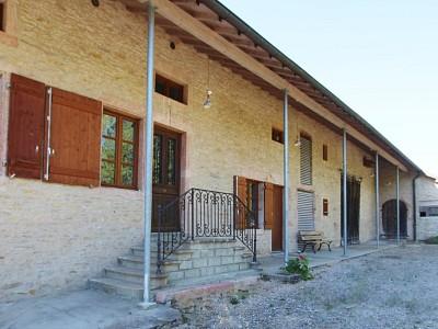 PROPRIETE A VENDRE - L ABERGEMENT DE CUISERY - 169 m2 - 280000 €